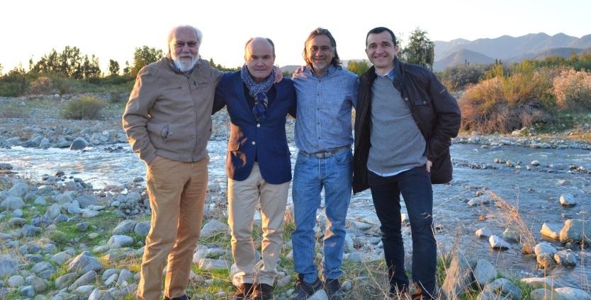 Visite Amérique du sud Olivier Poussier Claude Gilois Jean-Luc Soubie